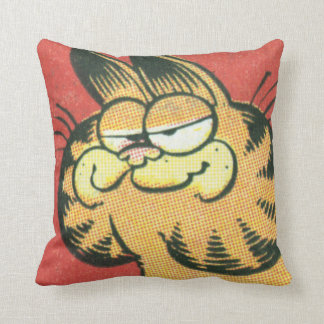 Vintage Garfield Throw Pillow
