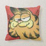 Vintage Garfield Throw Pillows
