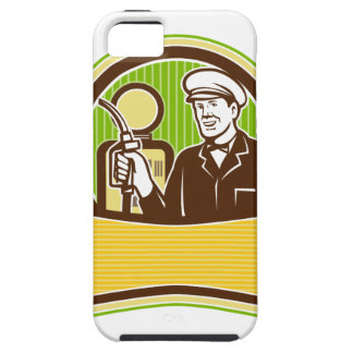 Vintage Gas Attendant Retro Case For The iPhone 5