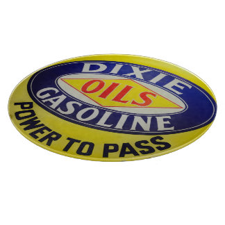 Vintage Gas Pump Dixie Oils Gasoline Hot Rod Era Boards