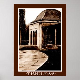Vintage Gazebo-Timeless Poster