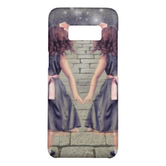 vintage gemini best friends forever Case-Mate samsung galaxy s8 case