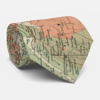 Vintage Geological Map of Nova Scotia (1906) Tie