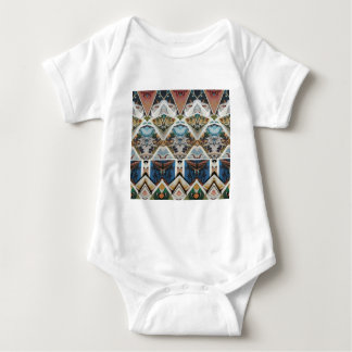 Vintage Geometric Baby Bodysuit