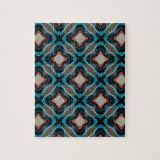 Vintage geometric pattern jigsaw puzzle