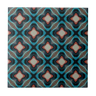 Vintage geometric pattern tile