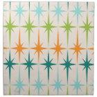 Vintage Geometric Starbursts Cloth Napkins