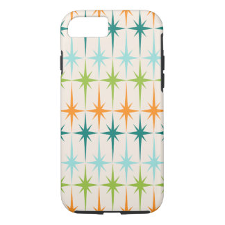 Vintage Geometric Starbursts iPhone 7 Case