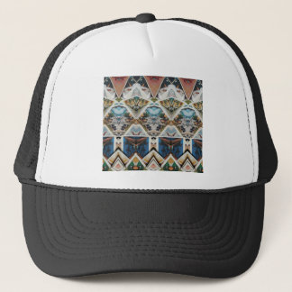 Vintage Geometric Trucker Hat