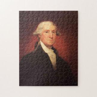 Vintage George Washington Portrait Painting Jigsaw Puzzle