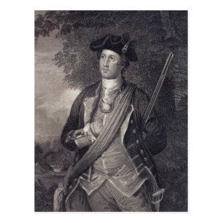 Vintage George Washington Portrait Postcard