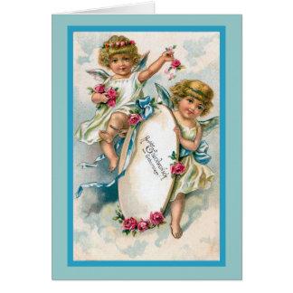 """""""Vintage German Birthday Card"""" Card"""