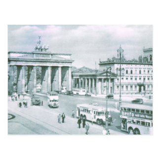 Vintage Germany, Berlin Brandenburg Gate Postcard