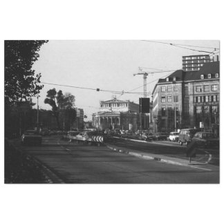 Vintage Germany Frankfurt opera Tissue Paper