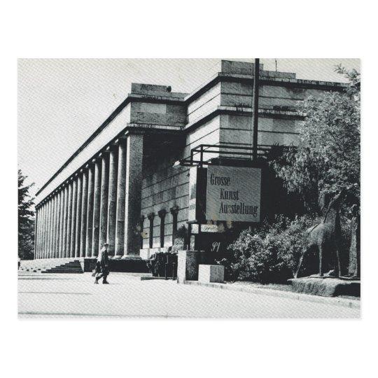 Vintage Germany, Munich, Art Gallery Postcard