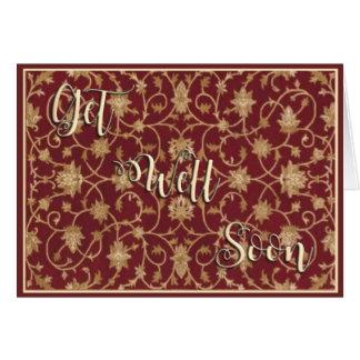 Vintage Get Well Soon Card