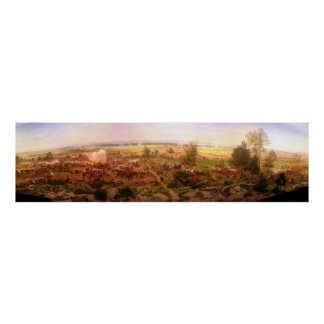 Vintage Gettysburg Cyclorama Paul Philippoteaux Poster