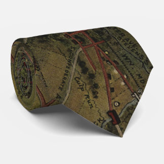 Vintage Gettysburg Pennsylvania Park Map (1916) Tie