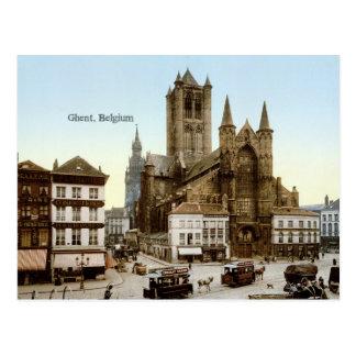 Vintage - Ghent, Belgium Postcard