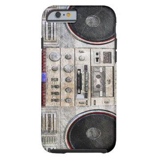 vintage ghetto blaster tough iPhone 6 case
