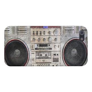 Vintage ghetto blaster iPhone 5 case