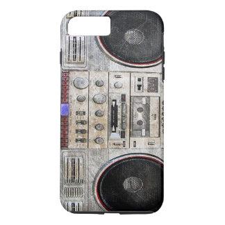 Vintage ghetto blaster iPhone 7 plus case