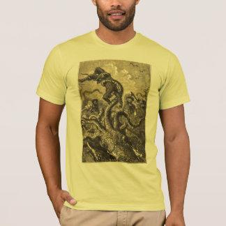 Vintage Giant Squid  Sea Monster T-Shirt