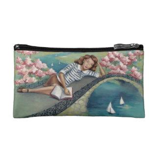 Vintage Girl Dreamy Cosmetic Bag