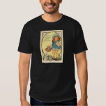 Vintage Girl With Easter Bunnies & Eggs Easter Car T Shirt