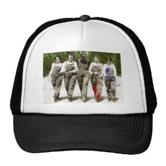 Vintage Girls - Fun, Feminist Art Trucker Hat