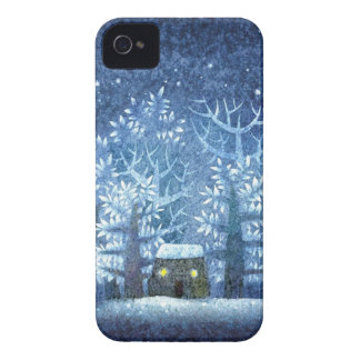 Vintage Girly Winter Wonderland iPhone 4 Covers
