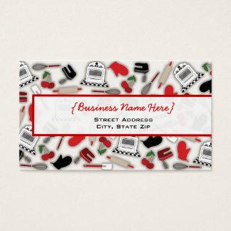 Vintage Glamour Kitchen Business Card