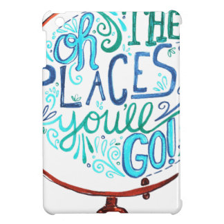 Vintage Globe - Oh The Places You'll Go iPad Mini Cases