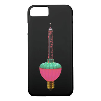Vintage Glowing Holiday Bubble Light iPhone 8/7 Case