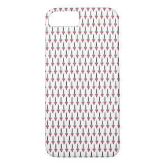 Vintage Glowing Holiday Bubble Light Pattern iPhone 8/7 Case