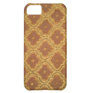 Vintage Gold Brown Damask Case-Mate iPhone 5 iPhone 5C Cover