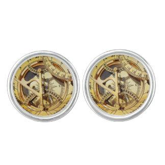 Vintage Gold Compass image Cufflinks