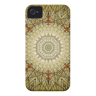 Vintage Gold Compass Mandala iPhone 4 Case-Mate Case