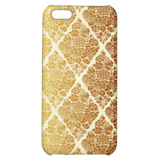 Vintage,gold,damask,floral,pattern,elegant,chic,be Case For iPhone 5C