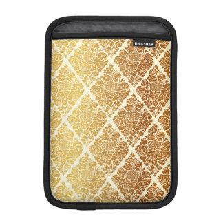 Vintage,gold,damask,floral,pattern,elegant,chic,be iPad Mini Sleeve