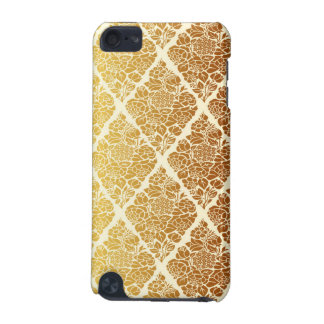 Vintage,gold,damask,floral,pattern,elegant,chic,be iPod Touch 5G Covers