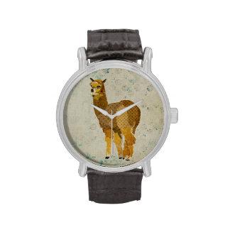Vintage Gold Diamond Alpaca Watch