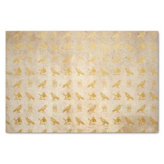 Vintage Gold Egyptian Paper Print