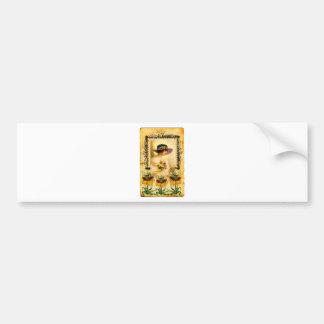 VINTAGE GOLD.jpg Bumper Sticker