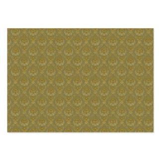 Vintage Gold Pattern background Large Business Card