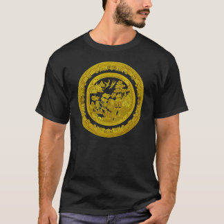 Vintage Gold willow pattern T-Shirt