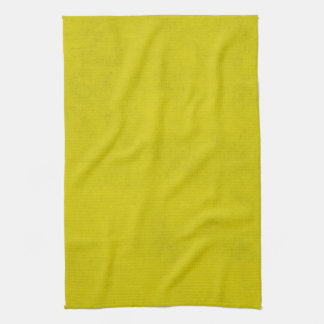 Vintage Gold Yellow Parchment Background Template Kitchen Towel