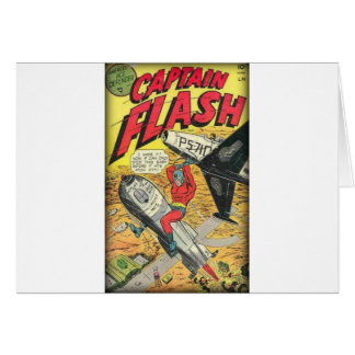 Vintage Golden Age Comic Book Card