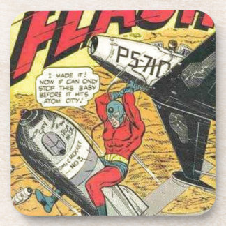 Vintage Golden Age Comic Book Coaster
