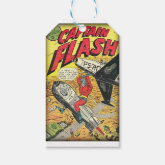 Vintage Golden Age Comic Book Gift Tags